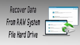 Recover All Your Data From RAW System File Hard Drive (M3 Data Recovery)