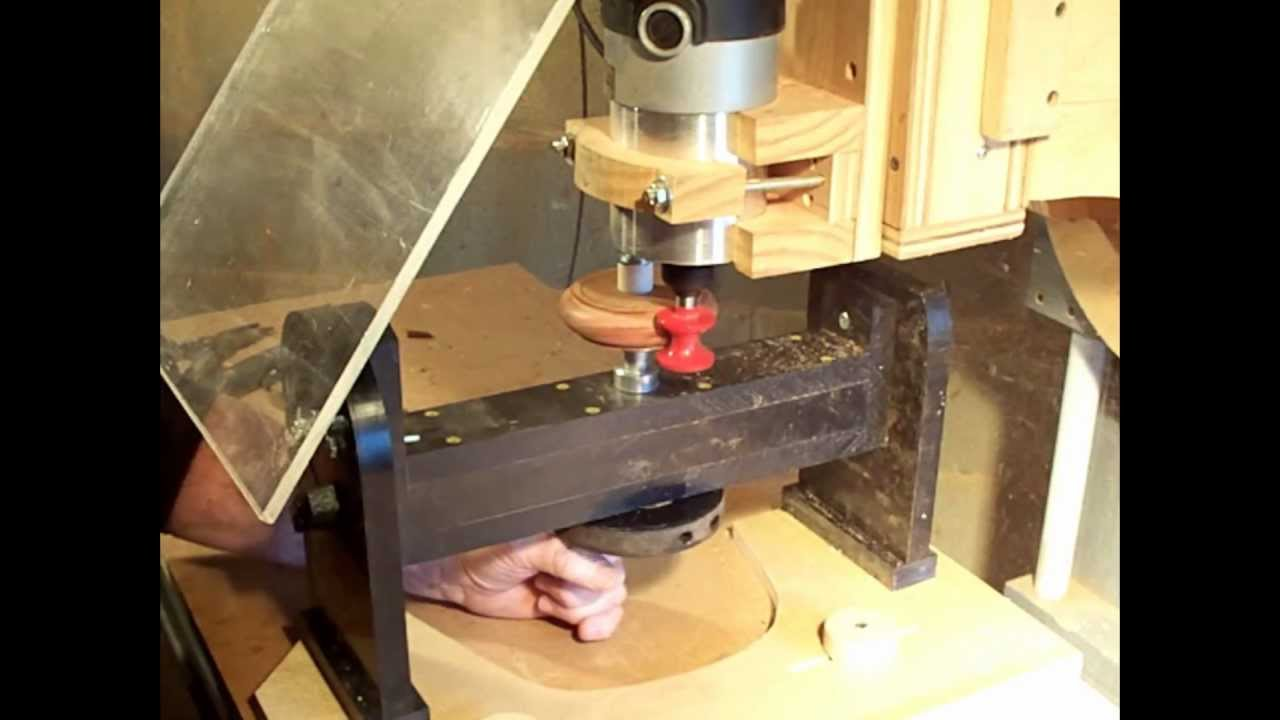 Making A Simple Wood Bracelet With Router Milling Machine