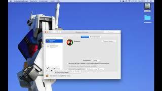Mac OS X 10.11: SYSTEMEINSTELLUNGEN - BENUTZER & GRUPPEN  - AUTOMATISCH ANMELDEN