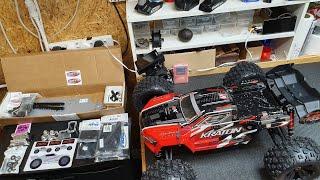 Building The World's Strongest Rc Car Live (Arrma Kraton V4)
