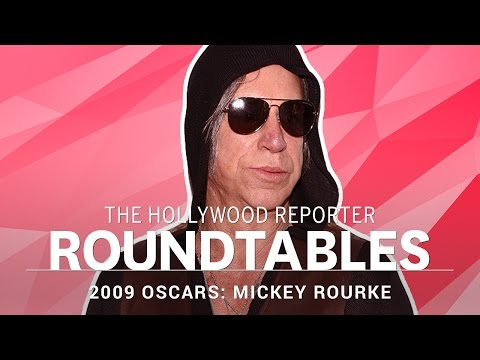 Mickey Rourke Talks Choosing The Right Roles: THR Oscar Roundtable