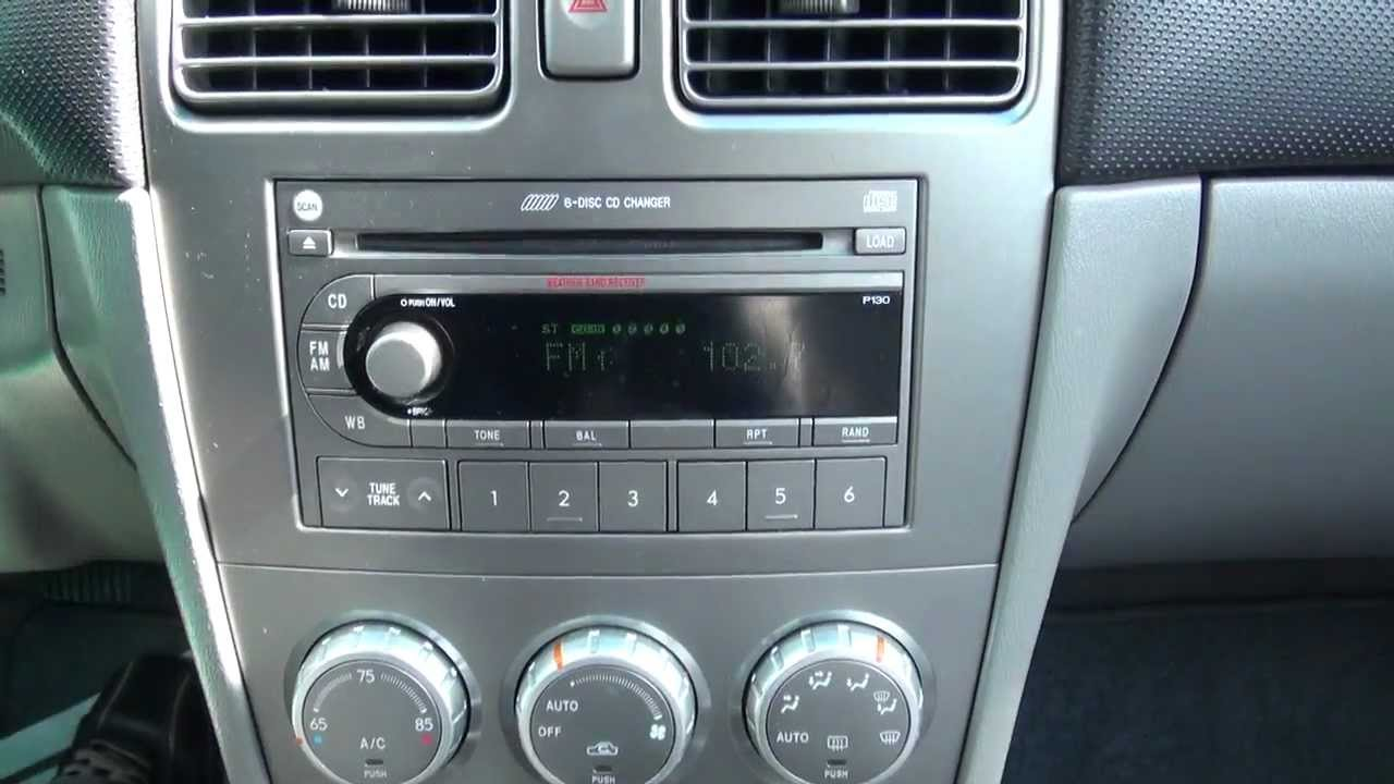2005 Subaru Forester 2.5 XS Symmetrical All-Wheel-Drive ...