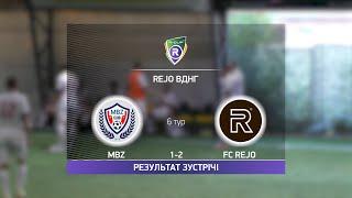 Обзор матча MBZ 1 7 FC Rejo Турнир по мини футболу в Киеве