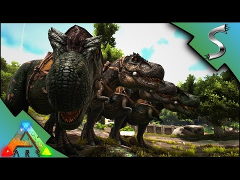 IMPRINTED REX ARMY! TREX BREEDING & IMPRINTING! - Ark: Survival Evolved [S3E37]