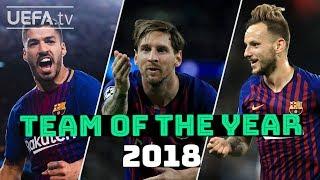 UEFA.com fans' Team of the Year - Barcelona