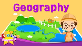 Kids vocabulary - Geography - Nature - Learn English for kids - English educational video