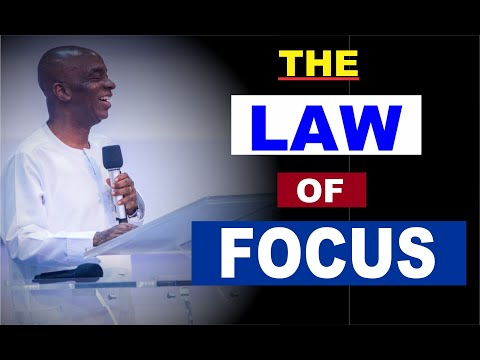 The Law of Focus by Bishop David Oyedepo