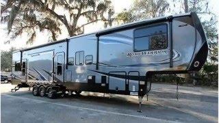 New 2017 Heartland Road Warrior RW 427 Fifth Wheel Toy Hauler For Sale in Ocala, FL