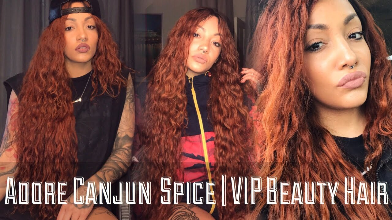 Im A Ginger Adore Cajun Spice Vip Beauty Review Youtube
