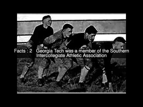 1916 Georgia Tech Yellow Jackets football team Top  #5 Facts