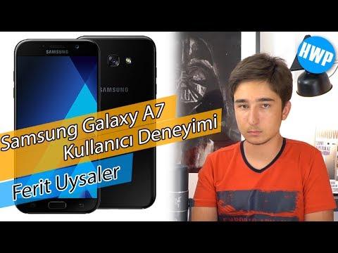 Samsung Galaxy A7 2017 Kullanıcı Deneyimi   Ferit Uysaler