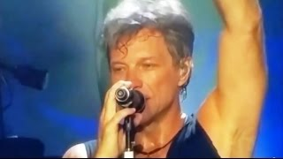 BON JOVI , Livin on a prayer !LIVE , Abu Dhabi , 2015