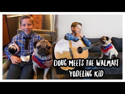 Meeting the Walmart Yodeling Kid!