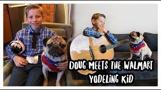 Meeting the Walmart Yodeling Kid!