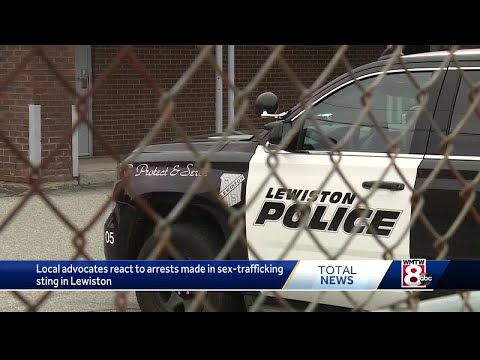 Advocates react to arrests made in sex-trafficking arrests in Lewiston