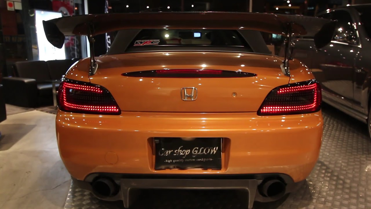 Car Shop Glow Original Led Taillight For S2000 Ap2 Youtube