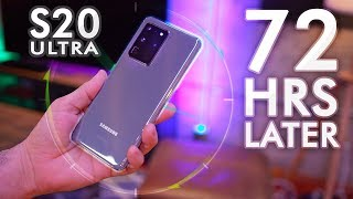 Galaxy S20 Ultra Review: 72 Hours Later...