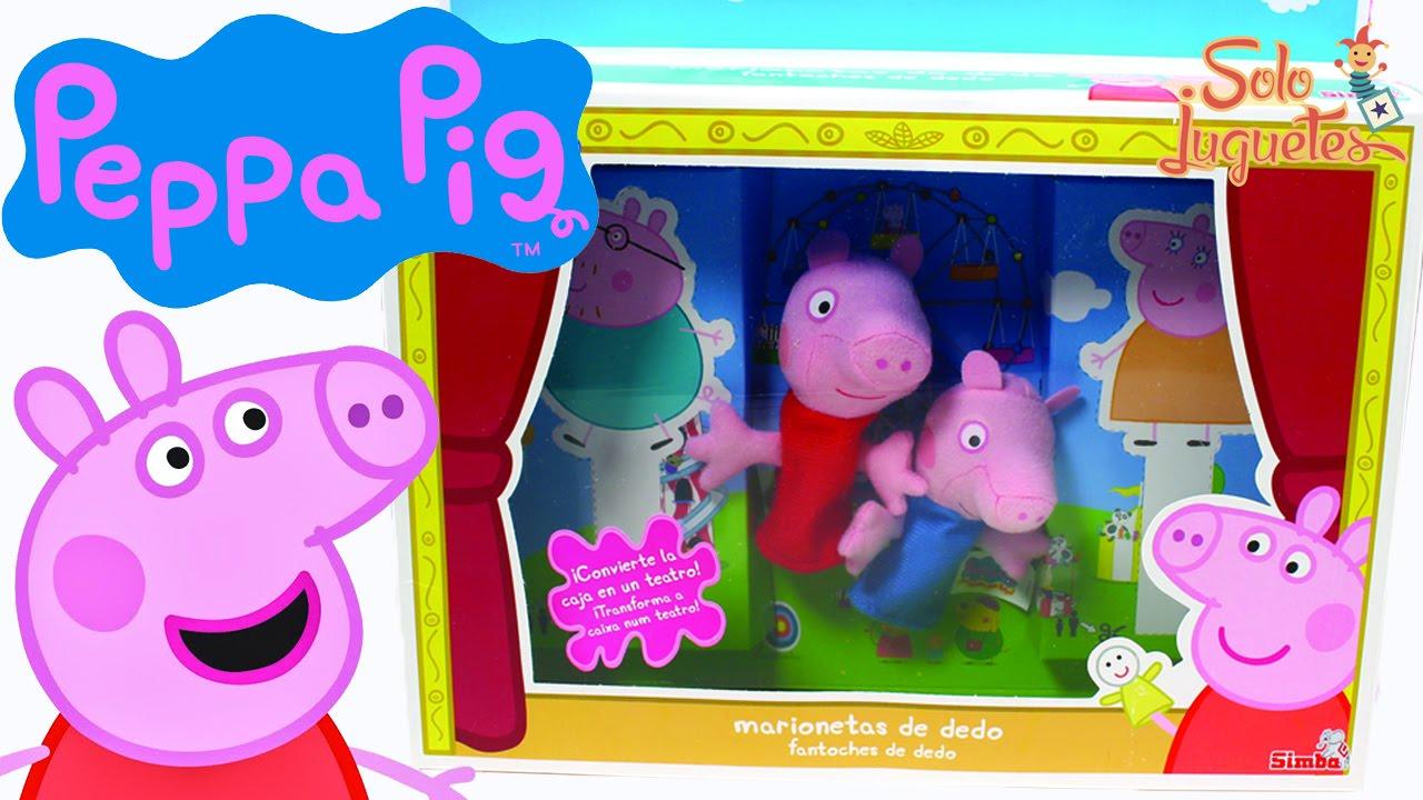 EspañolJuego Peppa De Marionetas Pig En vm8nO0wN