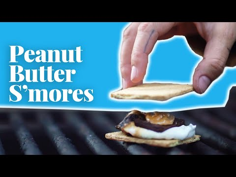This Peanut Butter S'mores Recipe Will Upgrade Your Campfire
