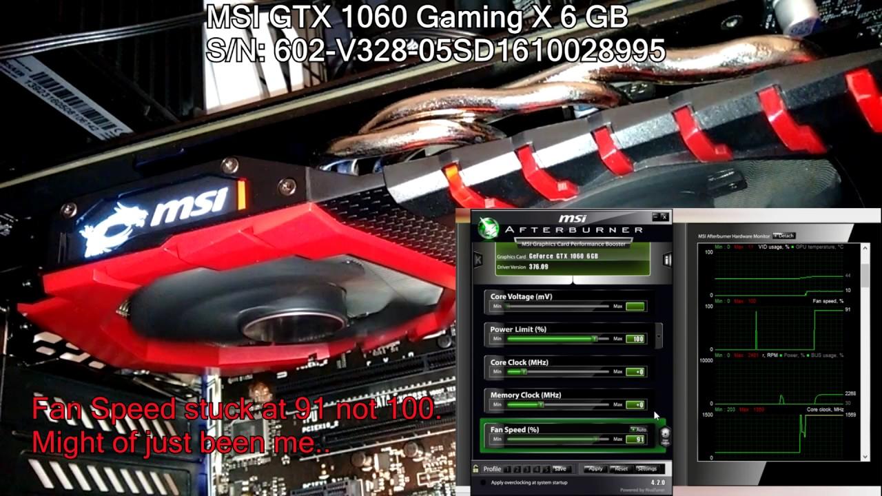 ВСЁ что НУЖНО знать про ➔ MSI GTX 1060 Gaming X - YouTube