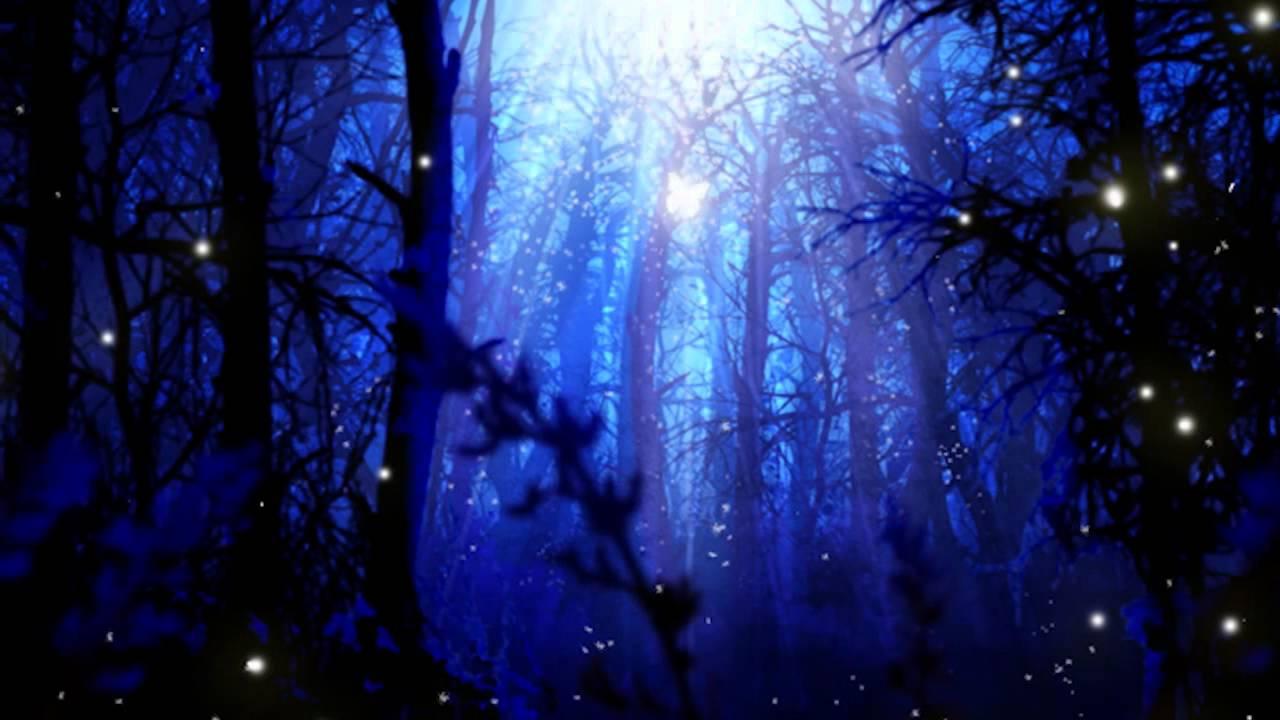 Mystical Fall Desktop Wallpaper Fireflies And Starry Skies Youtube