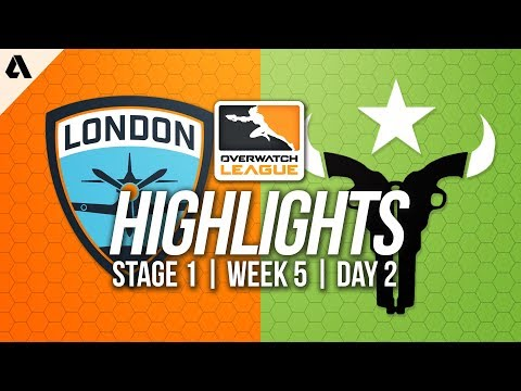 Houston Outlaws vs London Spitfire ft Jake Birdring | Overwatch League Highlights OWL Week 5 Day 2