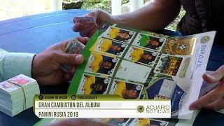 Gran Cambiatón del álbum Panini Rusia 2018