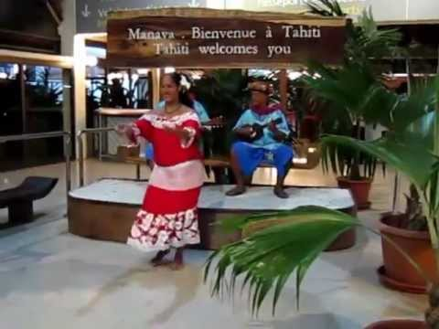 Welcome at Faa'a Airport, Tahiti jun28