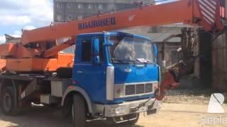 Аренда автокрана 25 тонн в Уфе цена 1600(, 2016-01-09T07:31:43.000Z)