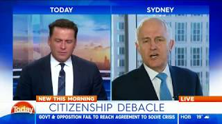 Video Today: Karl Stefanovic vs Malcolm Turnbull download MP3, 3GP, MP4, WEBM, AVI, FLV November 2017