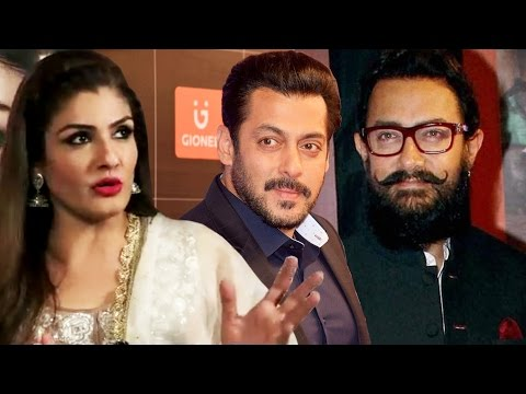 Raveena Tandon Takes A DIG At Salman & Aamir Khan For Working With Younger Actresses