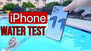 iPhone 11 Pro Max Water Test! ACTUALLY Fully Waterproof?!