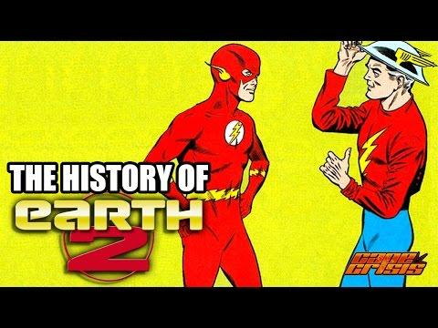 The History of Earth Two - Superhero Spotlight