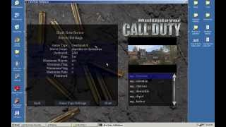 How to create LAN server in Call of Duty 1