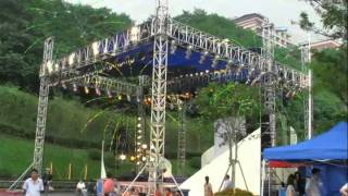 Latent Show Solution Stage Lighting Box Truss Aluminum Stage Truss System 007.flv