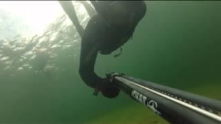 Подводная охота 2013г Байкал, город Северобайкальск