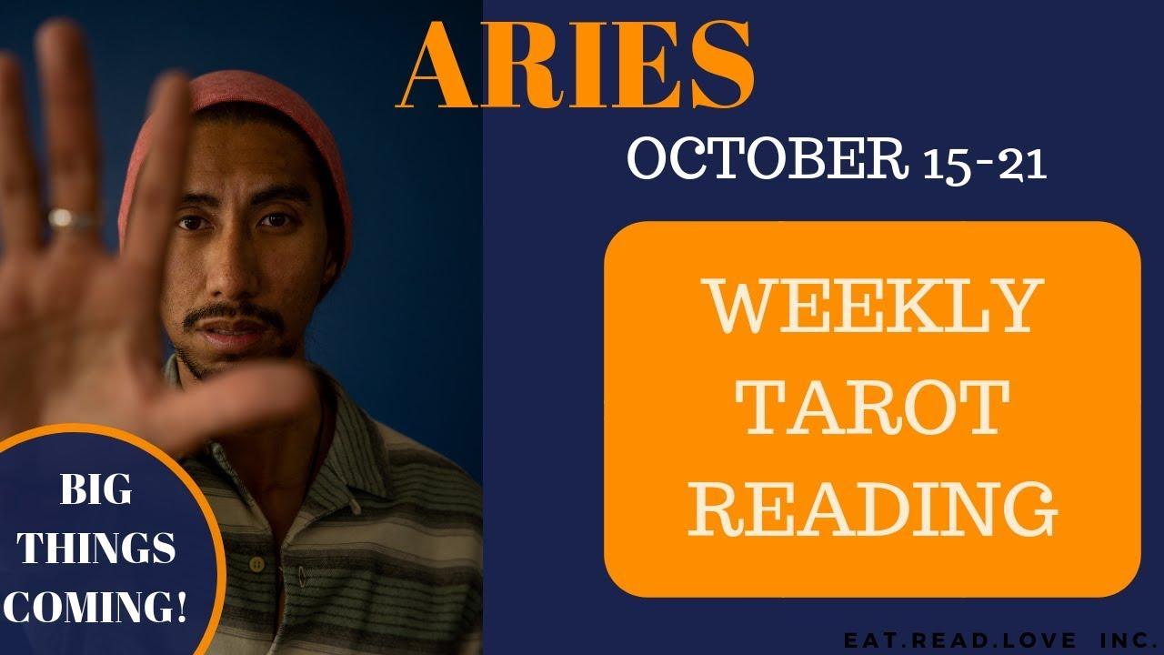 aries weekly 15 to 21 tarot horoscope