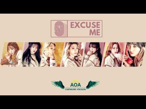 AOA - Excuse Me (Chipmunk Version)