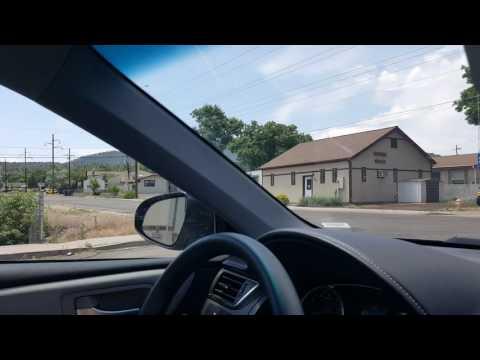 Driving through Williams Arizona