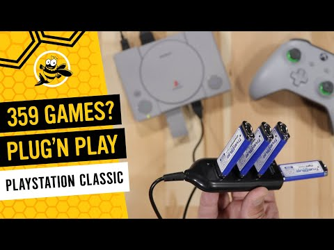 How To Add 359 Games To Your PlayStation Classic!