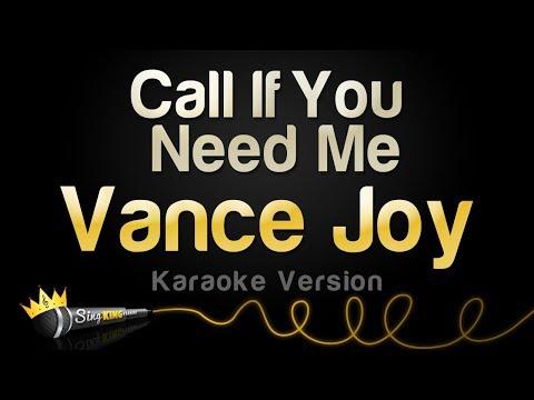Vance Joy - Call If You Need Me (Karaoke Version)