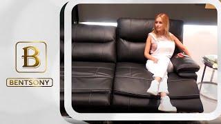 """Видео обзор: Кожаный Диван """"Терамо"""" с электрическими реклайнерами"""
