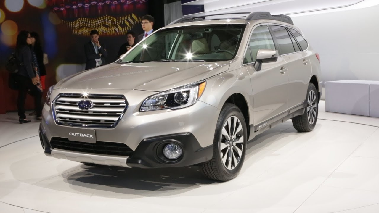 2015 subaru outback legacy preview consumer reports youtube