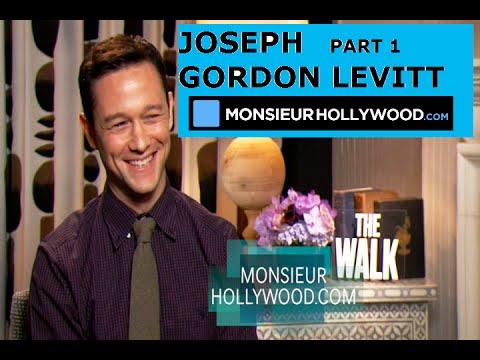 Fun, Crazy, Joseph Gordon-Levitt, speaks french, parle francais, Interview, crazy, Part1