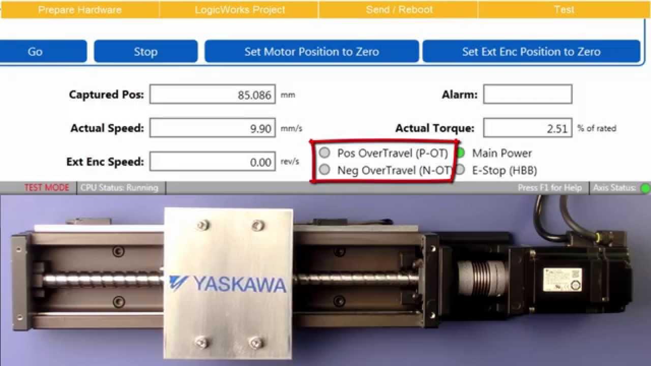 Yaskawa SigmaLogic7 Compact Is Rockwell AOI Compatible