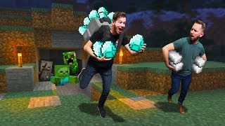 Who Can Gather The BEST MATERIALS?! | Minecraft