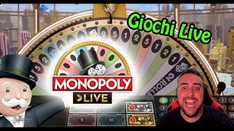 LIVE GAMES - I TRY MONOPOLY LIVE WITH €1000
