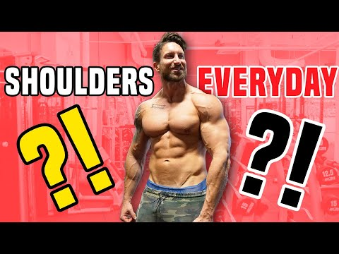 Why You Should Train Your Shoulders Everyday From Home (BOULDER SHOULDERS IN 5 MINS!)