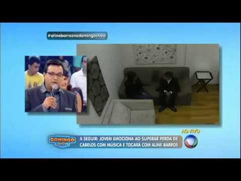 Aline Barros no Domingo Show com Geraldo Luís 31/05/2015 COMPLETO