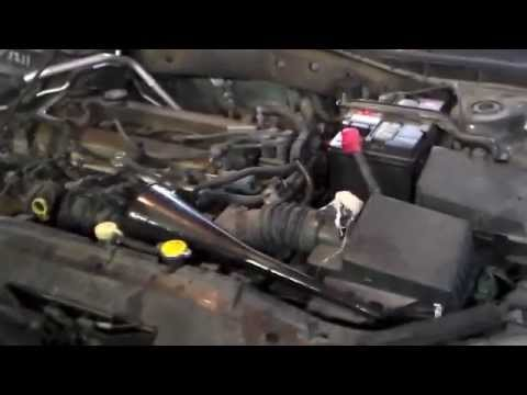 2003 Mazda 6 Partial A/T Fluid Change   YouTube